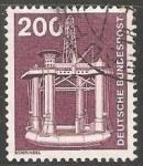 Sellos de Europa - Alemania -  Plataforma de perforacion