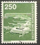 Sellos de Europa - Alemania -  flughafen aeropuerto