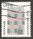 Stamps Germany -  Beethoven house bonn