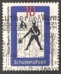Sellos de Europa - Alemania -  Schülerlotse -trabajadores del transporte