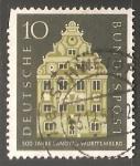 Sellos de Europa - Alemania -  Landtag Wurttemberg - Parlamento Regional de Baden