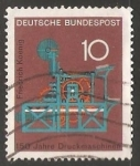 Sellos de Europa - Alemania -  Druckmaschine