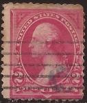 Sellos de America - Estados Unidos -  George Washington  1894 2 cents
