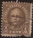 Sellos de America - Estados Unidos -  Nathan Hale  1923 0,5  centavos