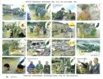 Sellos de America - Honduras -  Mitch Tragedia Nacional del 25-31 de octubre 1998