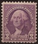 Sellos de America - Estados Unidos -  George Washington 1932 3 centavos