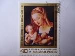 Sellos de Europa - Hungría -  A.Dúred; Mária  Gyermekkel.