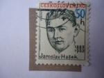 Sellos de Europa - Checoslovaquia -  Escritor:Jaroslav Hasek 1883-1923