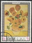 Stamps : Asia : United_Arab_Emirates :  Ras al Khaima - 45 - Cuadro de Van Gogh, en el Museo de Londres
