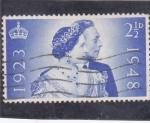 Sellos de Europa - Reino Unido -  Isabel II y duque de Edimburgo