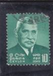 Sellos del Mundo : Asia : Sri_Lanka : Stephen Senanayake
