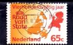Sellos de Europa - Holanda -  mapa
