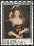 Sellos del Mundo : Asia : Emiratos_Árabes_Unidos : Ras al Khaima - 45 - Cuadro de Rubens, en el Museo de Munich