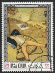 Stamps : Asia : United_Arab_Emirates :  Ras al Khaima - 45 - Cuadro del Museo de Munich