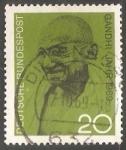 Sellos de Europa - Alemania -  Gandhi