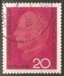 Stamps Germany -  Kardinal Von Galen