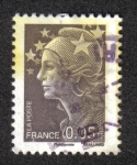 Stamps France -  Marianne Beaujard
