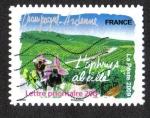Stamps France -  Flora