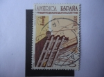 Stamps Spain -  Ed:3223 - Upaep - América-España - Rumbo al Nuevo Mundo.