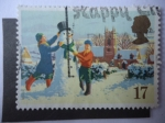 Stamps United Kingdom -  Reino Unido - Ilustración. 1990.