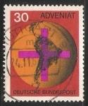 Sellos de Europa - Alemania -  100 años de la Acción Católica ADVENIAT .