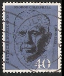 Stamps Germany -  George  C. Marshall