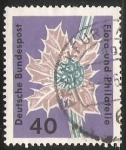 Sellos de Europa - Alemania -  Flora und philatelie