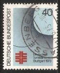 Sellos de Europa - Alemania -  Deutsches Turnfest Stuttgart 1973
