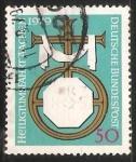 Stamps Germany -  Heiligtums fahrt Aachen -Aquisgrán Peregrinación