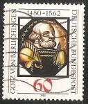 Sellos de Europa - Alemania -  Götz von Berlichingen (1480-1562)