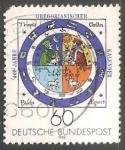 Sellos de Europa - Alemania -  400 jahre Gregorianischer Kalender- calendario gregoriano