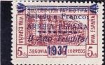 Sellos de Europa - España -  acueducto de Segovia (23)