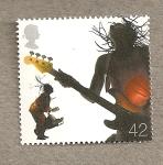 Sellos de Europa - Reino Unido -  Musicos