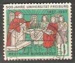 Stamps Germany -  Universidad de Friburgo