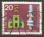 Stamps : Europe : Germany :  internationale verkehrsausstellung 1965- Exposición Internacional de Transporte