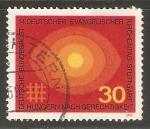 Sellos de Europa - Alemania -  Deutscher evangelischer kirchentag stuttgart - Iglesia protestante Alemán