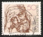 Stamps : Europe : Germany :  Martin Buber