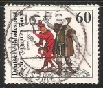 Stamps Germany -  Johann Georg Faust
