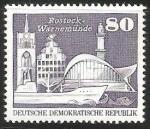 Sellos de Europa - Alemania -  Rostock Warnemunde