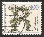 Sellos de Europa - Alemania -  riesling anbau