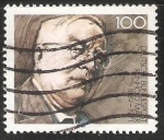Stamps Germany -  Reinhold Maier
