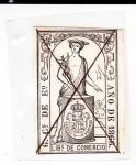 Stamps : Europe : Spain :  libros de comercio- sin valor postal (23)