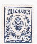 Stamps : Europe : Spain :  CHEQUES- venta (24)