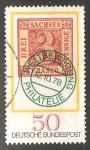 Stamps Germany -  Drei sachsen pfennige