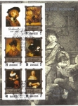 Sellos del Mundo : Asia : Corea_del_norte :  Las pinturas de Rembrandt