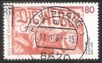 Stamps Germany -  Gerhart Hauptmann