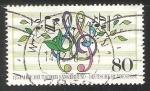 Sellos de Europa - Alemania -  125 jahre deutscher sangerbund - • 125 años de la Sociedad Coral alemána