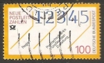 Stamps Germany -  Neue postleitzahlen - Código postal