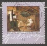 Stamps Germany -  Carl Spitzweg