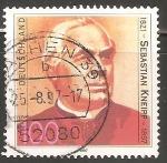 Stamps Germany -  Sebastian Kneipp